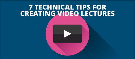 7 Technical Tips for Creating Video Lectures - eLearning Brothers | Linguagem Virtual | Scoop.it