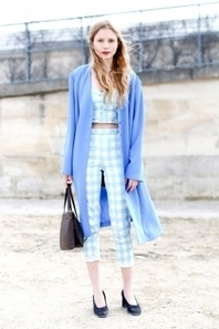 Gingham style: in Paris | 24-7 Fashion Should-Knows | Scoop.it