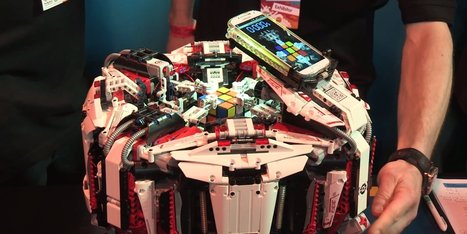 Le record du monde de Rubik's cube battu par un robot Lego | NBIC, transhumanism, cyborgs, AI... | Scoop.it