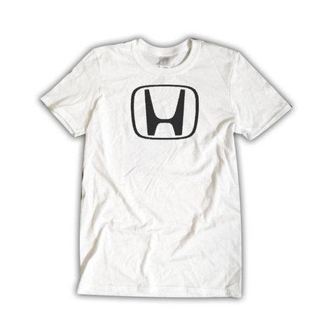 HONDA insignia Unisex White T-Shirt Car Emblem Cool Shirt | Binary Options | Scoop.it