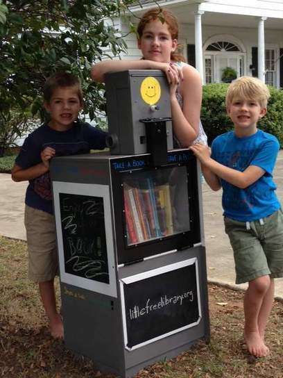 Old paper box has new life as a library - Montgomery Advertiser | The Browse | Scoop.it