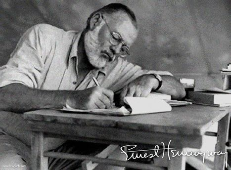 Recordando a Ernest Hemingway: Sus frases » Trianarts | LOS 40 SON NUESTROS | Scoop.it