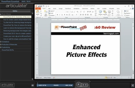 PowerPoint Essentials for E-Learning Designers | docuCUED | Scoop.it