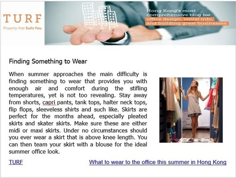 Finding Something To Wear | Office Design | Scoop.it