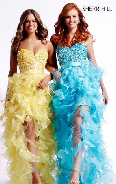 PROM DRESS OF THE DAY: Sherri Hill 2415 Fun... | Fashion- formal dresses for everyone | Scoop.it