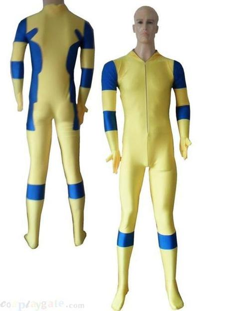 2013 Yellow and Blue Spandex Deadpool Costume - 2013 Yellow and Blue Spandex Deadpool Costume for sale | deadpool costume | Scoop.it
