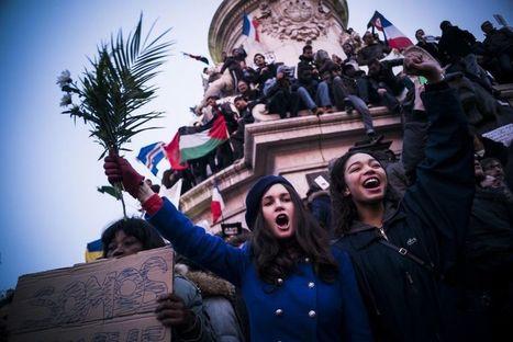 Dans les marches du 11janvier   Revue de presse   Scoop.it