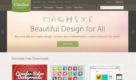 Where designers go to find photos and graphics | Blog | Startup software | Scoop.it