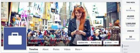A Tour of the New Facebook Business Page Redesign - Search Engine Journal | Social | Scoop.it