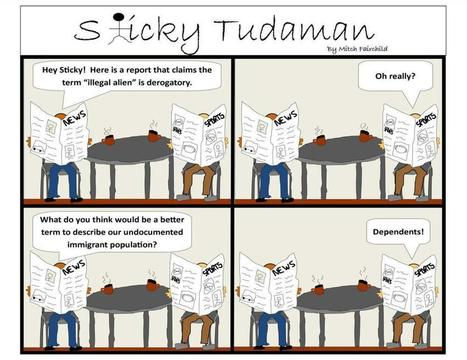 Sticky Tudaman On Modern Day Dependents | Political Humor | Scoop.it