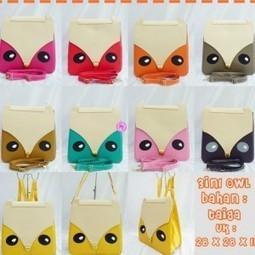 Tas Selempang untuk Wanita dengan motif OWL atau Burung Hantu | trend fashion 2013 | Scoop.it