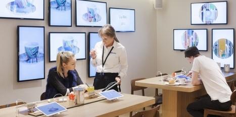 Voici le nouveau concept store développé par Samsung et Illy | Innovation & Technology | Scoop.it