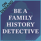Be a Family History Detective Recording | FamilyTreeUniversity.com | Ancestors at Large | Scoop.it