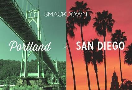 Portland, Oregon vs. San Diego: What's the Better Beer City?   English Studies & more   Scoop.it