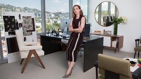 Clique Media Group's CEO Outfits Her New Digs With Help From Pinterest | Pinterest | Scoop.it