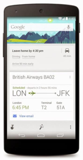 Comment utiliser Google Now comme assistant numérique de voyage - Descary.com - médias sociaux, mobilité et cloud | TIC et TICE mais... en français | Scoop.it