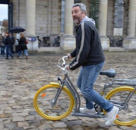 Bordeaux. Et voici Pibal, le vélo-patinette de Philippe Starck - LaDépêche.fr   velocosm   Scoop.it