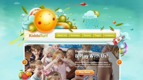KiddoTurf Kids WordPress Theme | Free & Premium WordPress Themes | Scoop.it