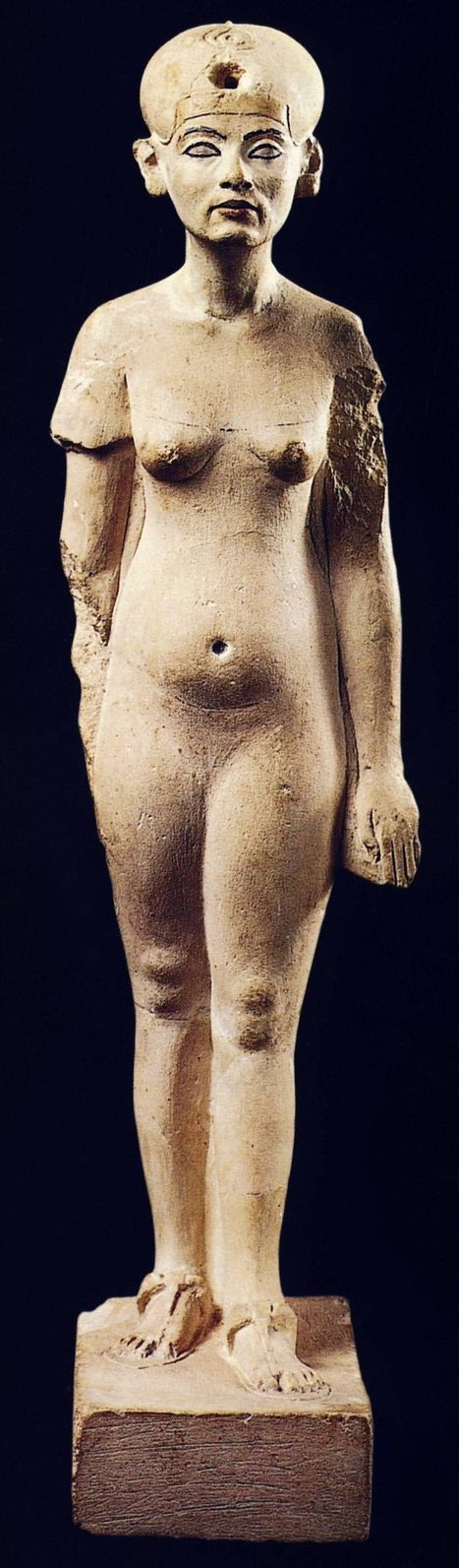 Nefertiti envejecida   Dos reinas poderosas de Egipto -Cleopatra vs. Nefertiti-   Scoop.it