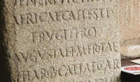 Tres aras funerarias dejaron huella de los esclavos que tuvo Lucus Augusti   Cultura Clásica   Scoop.it