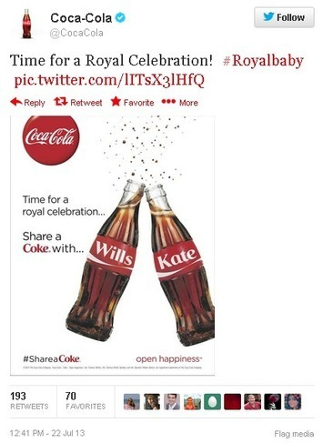 Oreo, Starbucks Among Brands That Jump On The #RoyalBaby Birth Announcement | Le monde de la pub | Scoop.it