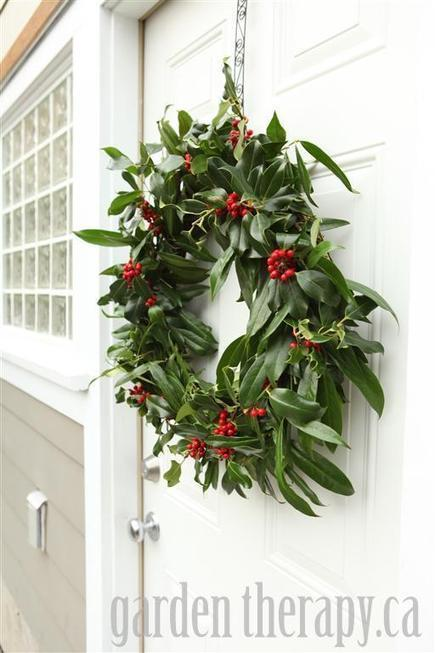 A Very Merry Holly Wreath   Annie Haven   Haven Brand   Scoop.it