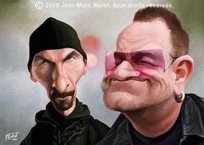 U2 | Caricatures | Scoop.it
