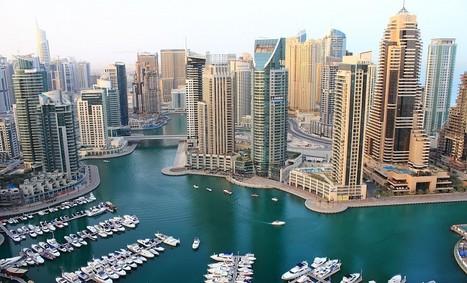 Everywhere: Photos: Early Morning Dubai Marina   A Guide To Dubai   Scoop.it