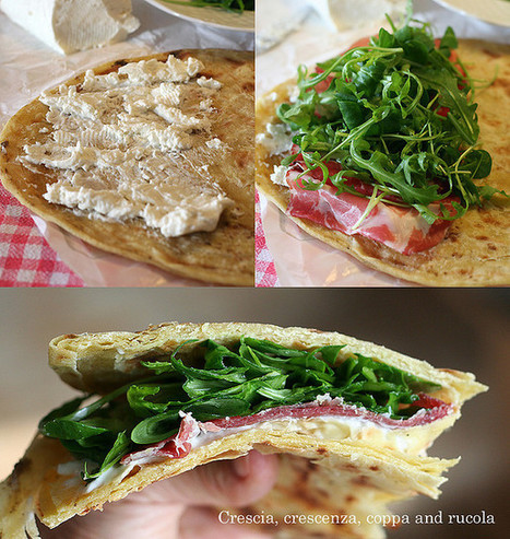 Don't call it piadina! Tasting the crescia sfogliata of Urbino. | Le Marche and Food | Scoop.it