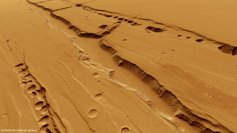Are the pit-chains of Mars a possible place for life? | Amazing Science | Scoop.it