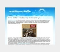 Disability insurance Lawyer - Page 1 | passbeemedia | Scoop.it