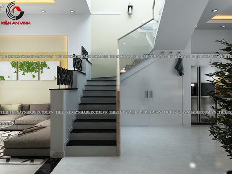 Mẫu nhà phố 2 tầng đẹp 5x15m hiện đại tại Gò Vấp | ban buon quan ao tre em xuat khau | Scoop.it