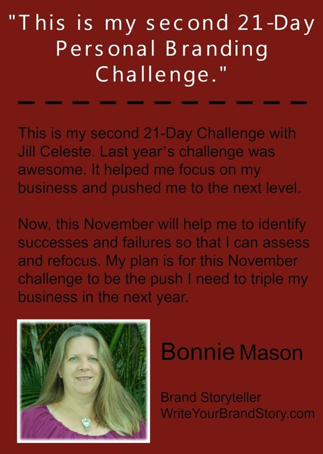 21-Day Personal Branding Challenge | Marketing and Blogging resources | Scoop.it