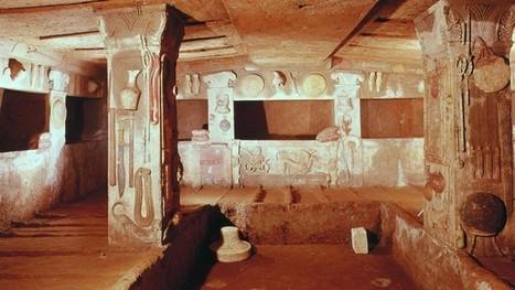 À la découverte des Étrusques | Les Etrusques et la Méditerranée. La cité de Cerveteri | Scoop.it