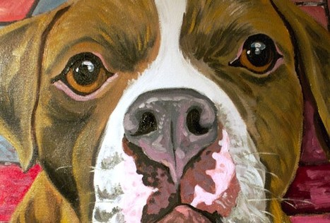 Home of Wagging Tail Portraits, Sherry Kendall, Fine Artist, Custom Painted Pet Portraits on Canvas, Custom Painted Pet Portrait Glass Ornaments, Custom Painted Wine Glasses, Wagging Tail Portraits... | Personal | Scoop.it