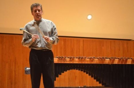 WKU's new music head entertains with marimba - Bowling Green Daily News   NuMuLu   Scoop.it