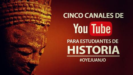 Cinco canales de Youtube para estudiantes de Historia   Enseñar Geografía e Historia en Secundaria   Scoop.it