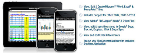 Documents To Go for iPad, iPhone and iPod touch | Innovatieve eLearning | Scoop.it