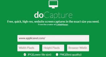 Faire une capture ecran d'un site grace à Docapture | Français Langue Etrangère et Technologies | Scoop.it