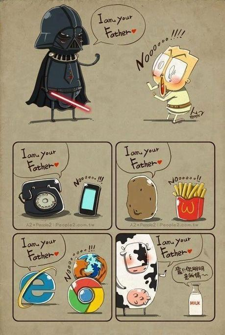 I'm your father.. nooo! | Design Ideas | Scoop.it