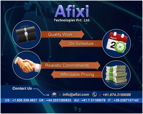 Afixi Technologies - A Leading Software Company in India | Web Development | Scoop.it