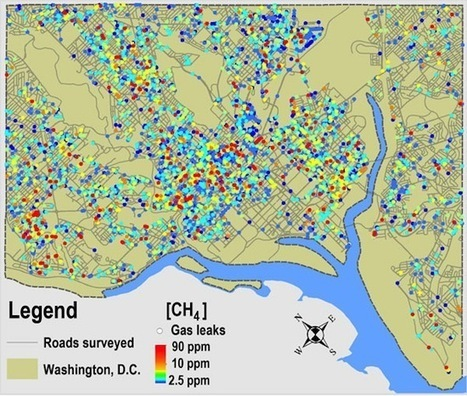 Dangerous Levels of Methane Found While Testing Natural Gas Leaks in D.C. | EcoWatch | EcoWatch | Scoop.it