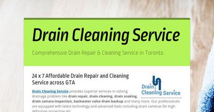 Comprehensive Drain Repair Services Across GTA | Drain Cleaning Service Toronto | Scoop.it