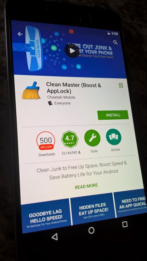 Why You Don't Need Cleaner Apps — Medium   MobileWorld   Scoop.it