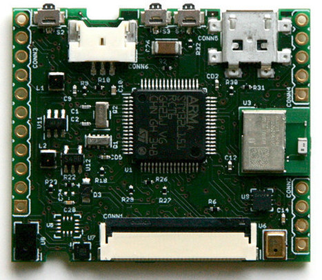 LimiFrog is a Bluetooth 4.1 Wearables Devkit Based on STM32L4 with Lots of Sensors (Crowdfunding) | Embedded Systems News | Scoop.it