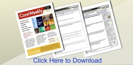 CoreStand's Free CoreWeekly Literacy Templates | Common Core Oklahoma | Scoop.it