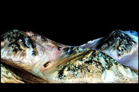 NASA Discovers Liquid Salty Water Flowing On Mars | IELTS, ESP, EAP and CALL | Scoop.it