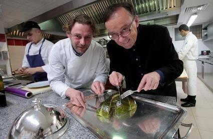 Le chef Arnaud Donckele en haut du gratin mondial à Saint-Tropez - Nice-Matin | Gastronomie Française 2.0 | Scoop.it