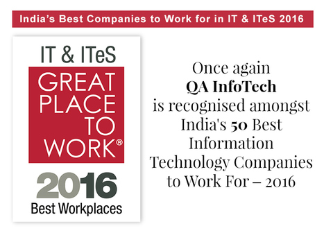 India's Best Companies to Work for in IT & ITeS - Great Place to Work® India | Software Testing Partners | Scoop.it