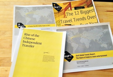 Launching the Skift Trends Report: Intelligence for the Travel Industry | Creative Tourism | Scoop.it